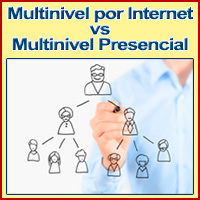 Multinivel por Internet VS Multinivel Presencial: 5 Secretos y Ventajas